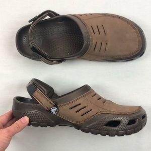Crocs clog bogota leather men's size 12